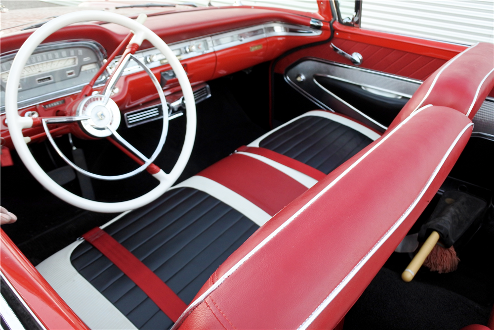1959 FORD GALAXIE SUNLINER CONVERTIBLE - Interior - 189415