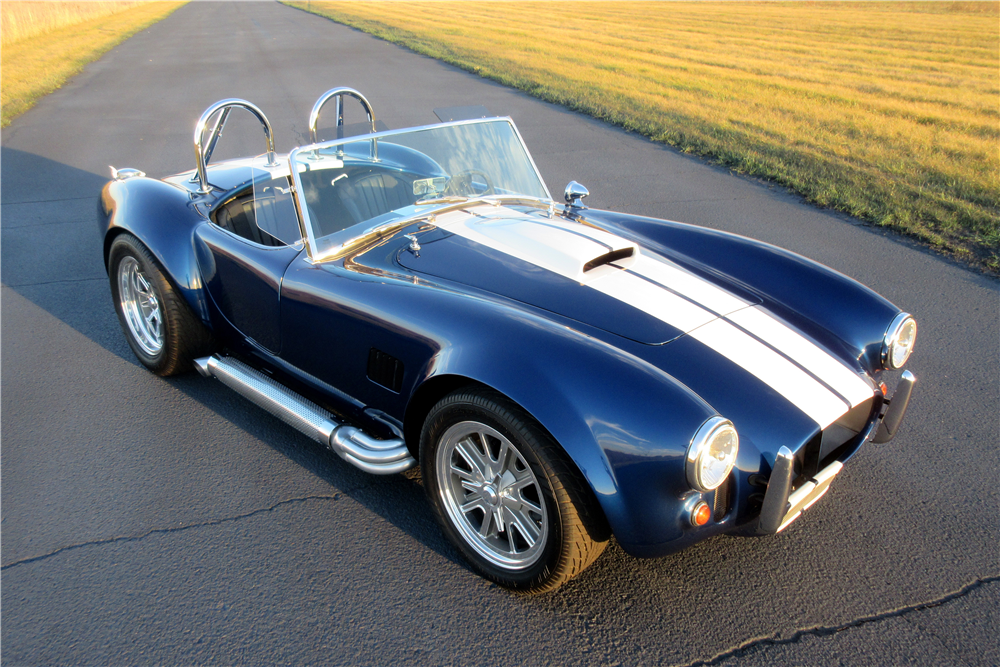 1966 SHELBY COBRA ROADSTER RE-CREATION - Front 3/4 - 189418
