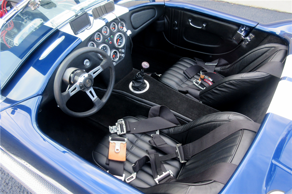 1966 SHELBY COBRA ROADSTER RE-CREATION - Interior - 189418
