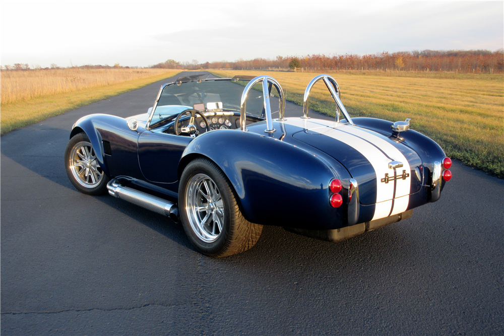 1966 SHELBY COBRA ROADSTER RE-CREATION - Rear 3/4 - 189418