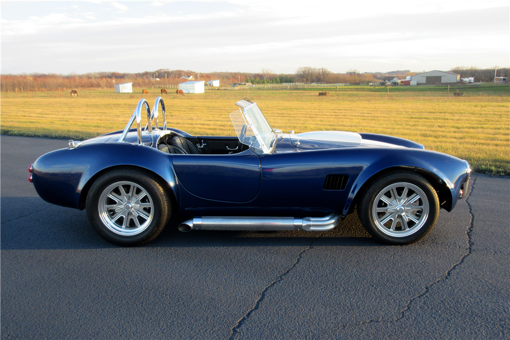 1966 SHELBY COBRA ROADSTER RE-CREATION - Side Profile - 189418