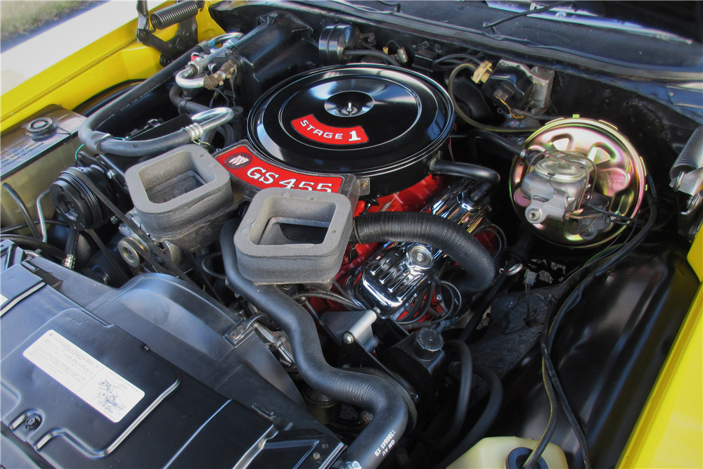 1970 BUICK GSX - Engine - 189420