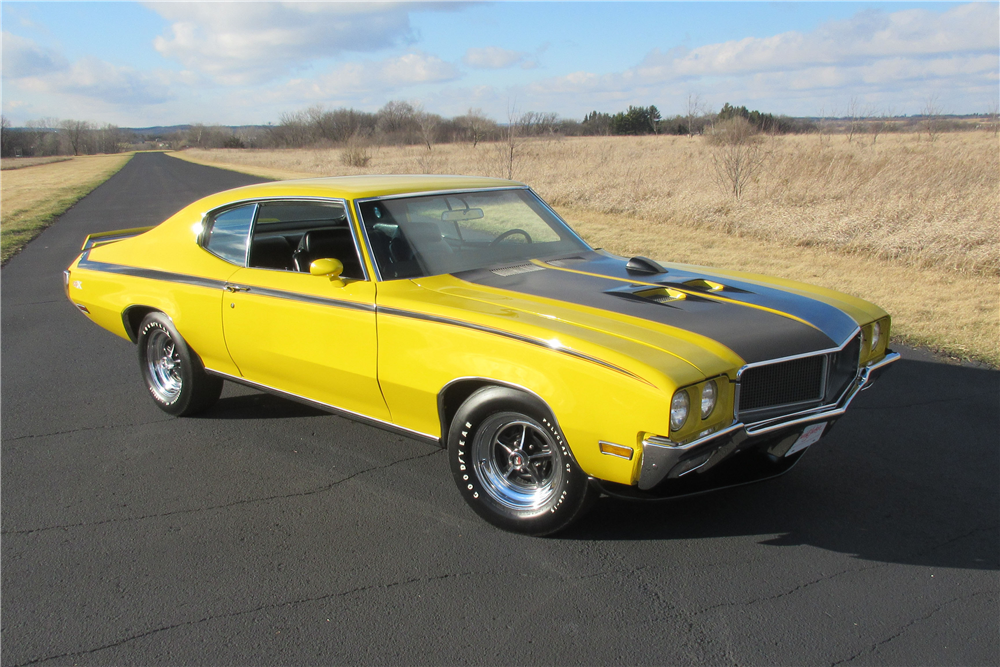 1970 BUICK GSX - Front 3/4 - 189420