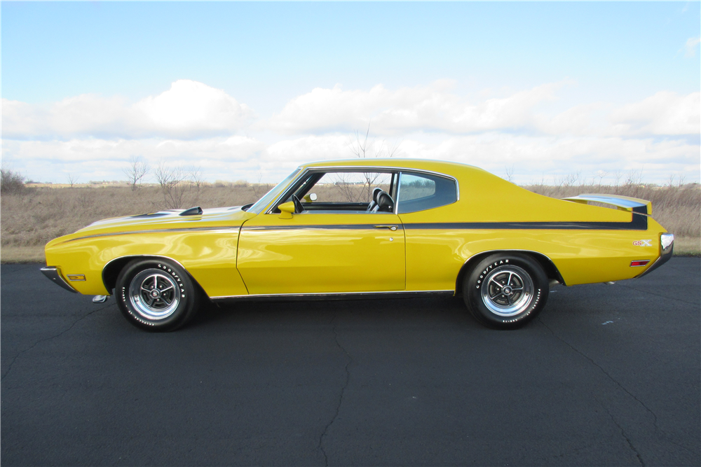 1970 BUICK GSX - Side Profile - 189420