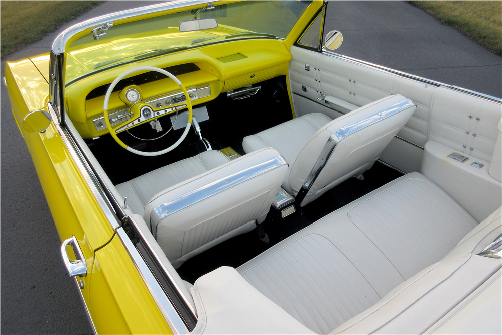 1963 CHEVROLET IMPALA SS CUSTOM CONVERTIBLE - Interior - 189425