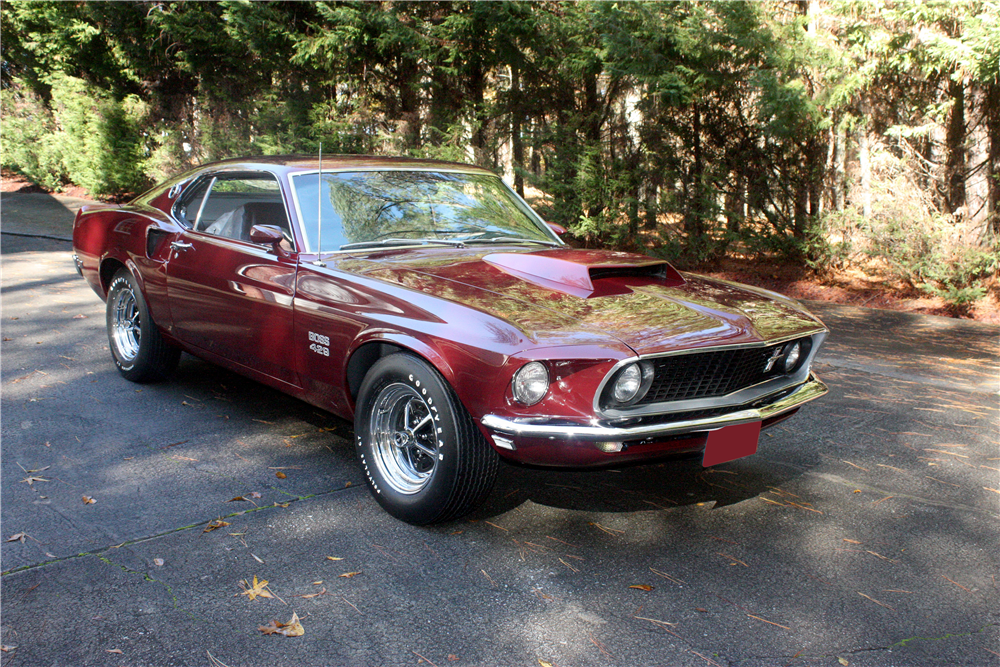 1969 ford mustang boss 429 fastback front 3 4 189441. Cars Review. Best American Auto & Cars Review