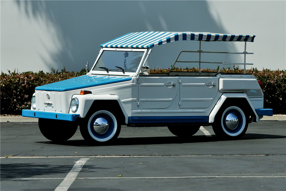 1974 VOLKSWAGEN THING CONVERTIBLE - Front 3/4 - 189446