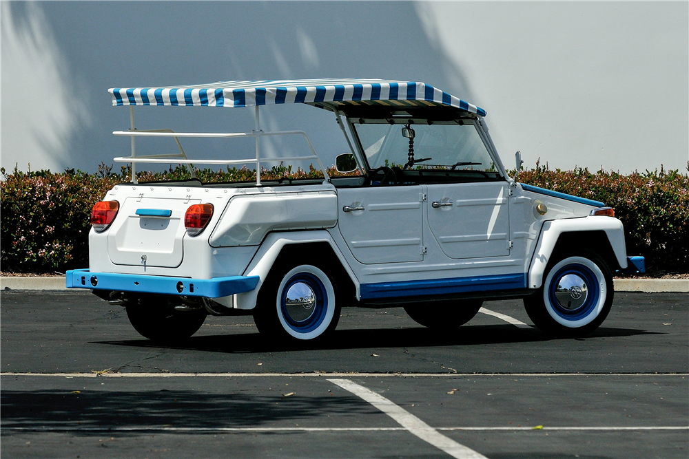 1974 VOLKSWAGEN THING CONVERTIBLE - Rear 3/4 - 189446