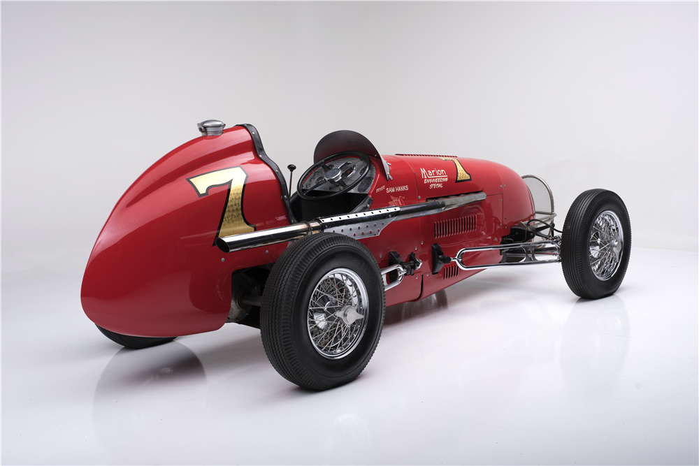 1948 KURTIS KRAFT KK2000 RACE CAR - Rear 3/4 - 189451