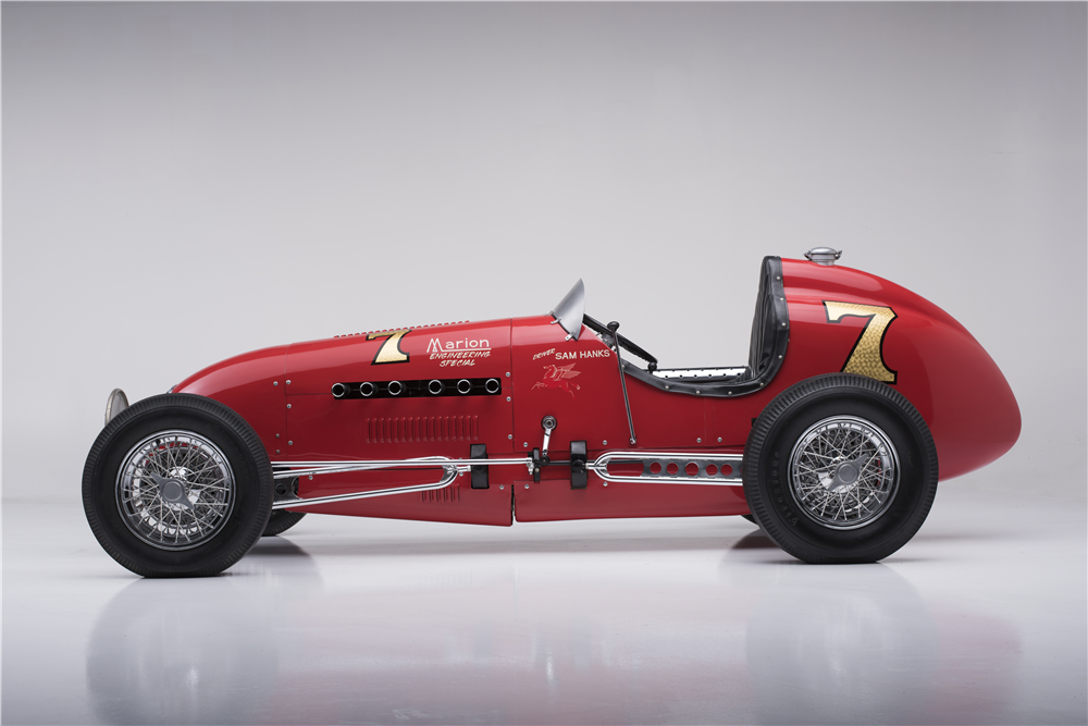 1948 KURTIS KRAFT KK2000 RACE CAR - Side Profile - 189451