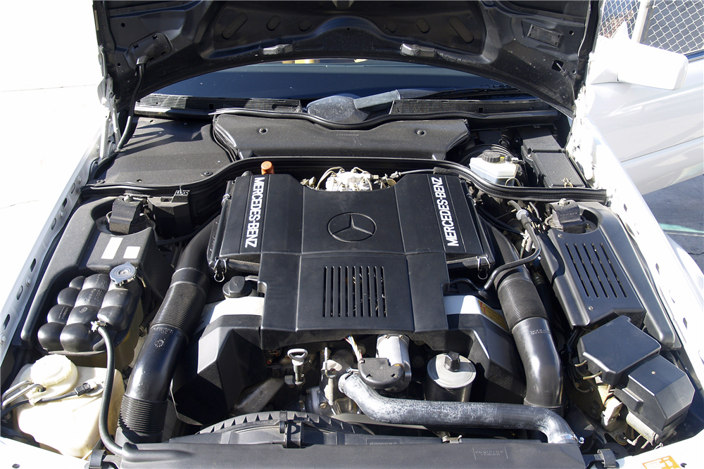 1991 MERCEDES-BENZ 500SL CONVERTIBLE - Engine - 189454
