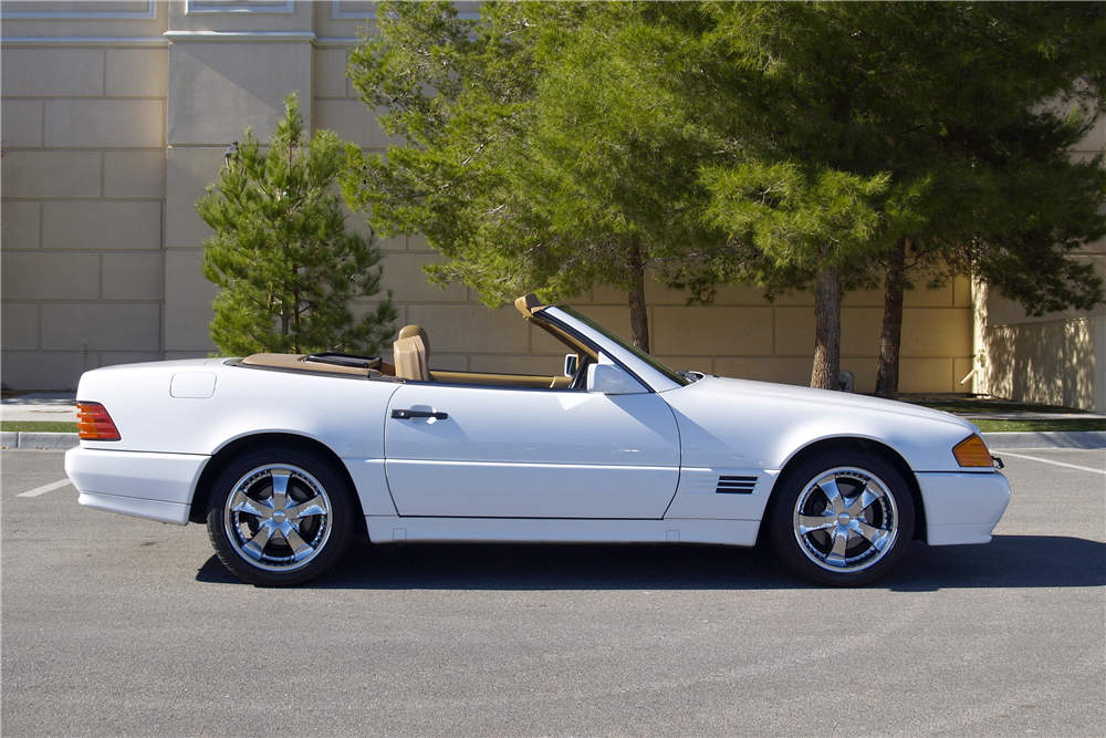 1991 MERCEDES-BENZ 500SL CONVERTIBLE - Side Profile - 189454