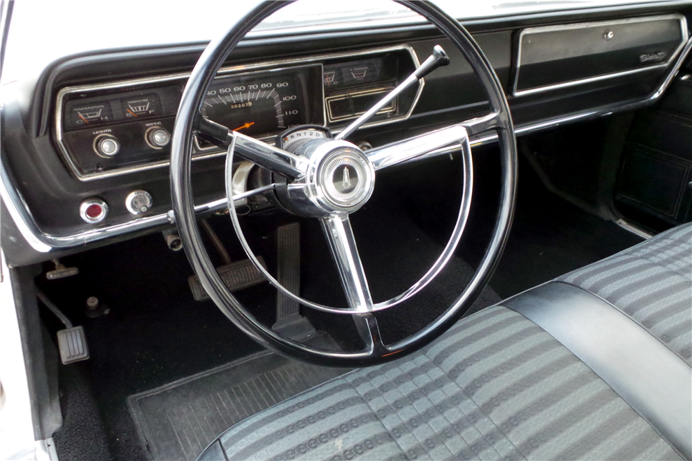 1967 PLYMOUTH BELVEDERE HEMI SUPER STOCK - Interior - 189459