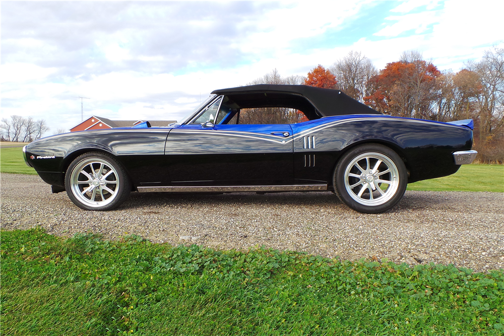 1967 PONTIAC FIREBIRD CUSTOM CONVERTIBLE - Side Profile - 189461