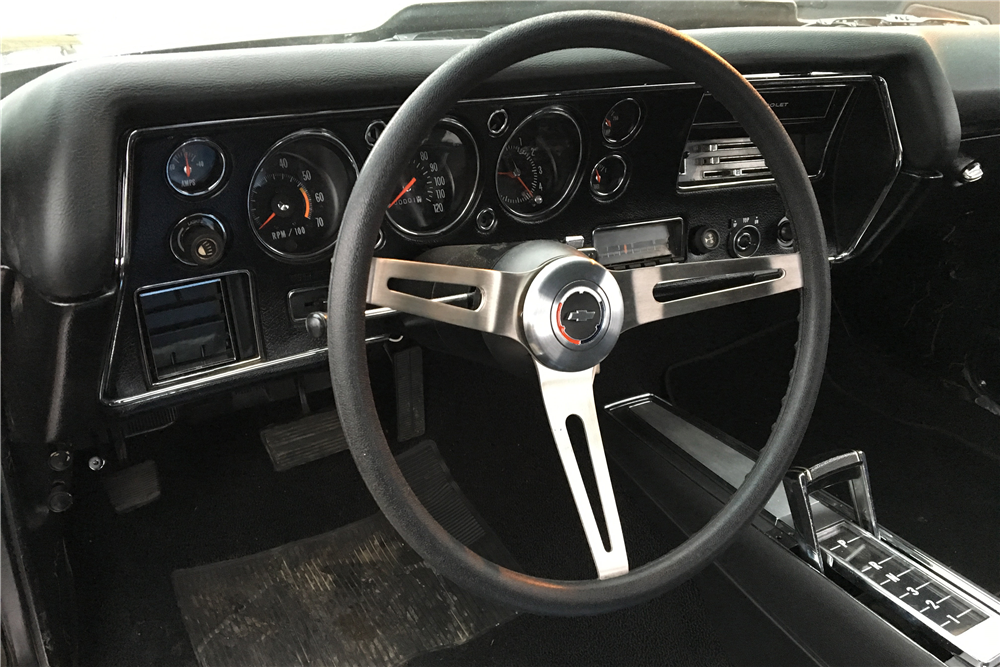 1972 CHEVROLET CHEVELLE SS 454 RECREATION CONVERTIBLE - Interior - 189462