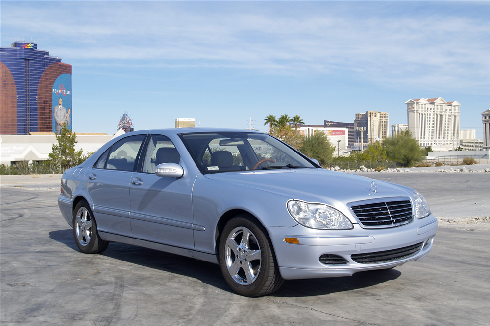 2004 MERCEDES-BENZ S430 4-DOOR SEDAN - Front 3/4 - 189466