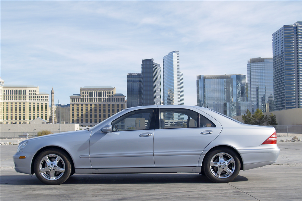 2004 MERCEDES-BENZ S430 4-DOOR SEDAN - Side Profile - 189466
