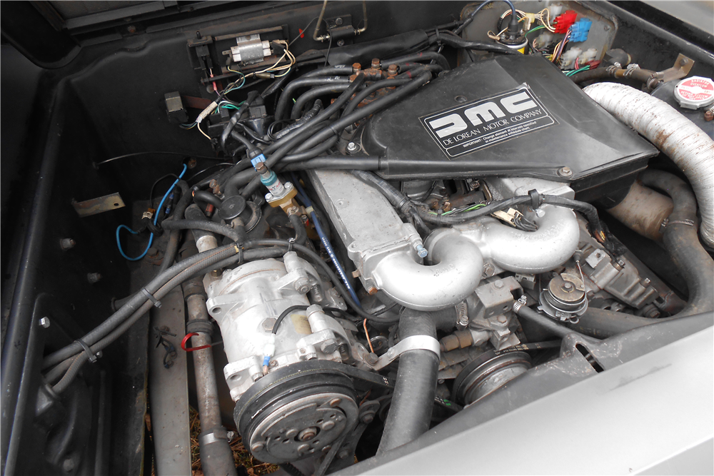 1981 DELOREAN DMC-12  - Engine - 189478