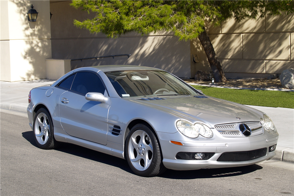 Image gallery 2005 sl500 convertible for 2005 mercedes benz sl class