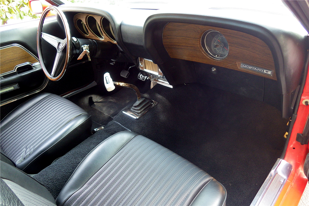 1970 FORD MUSTANG BOSS 302 FASTBACK - Interior - 189487