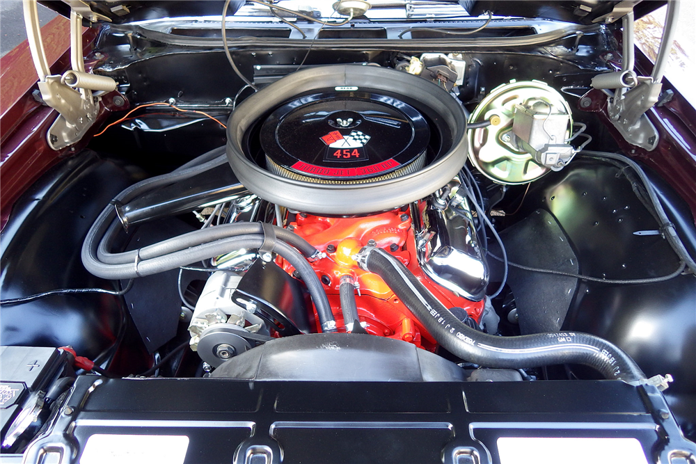 1970 CHEVROLET CHEVELLE SS 454  - Engine - 189488