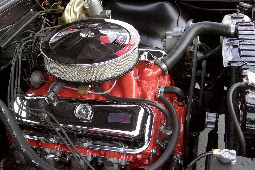 1966 CHEVROLET CHEVELLE SS 396 CONVERTIBLE - Engine - 189492