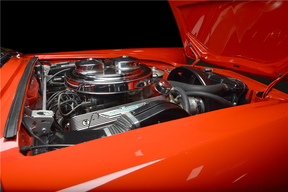1957 FORD THUNDERBIRD E-SERIES CONVERTIBLE - Engine - 189493