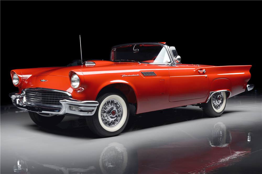 1957 FORD THUNDERBIRD E-SERIES CONVERTIBLE - Front 3/4 - 189493