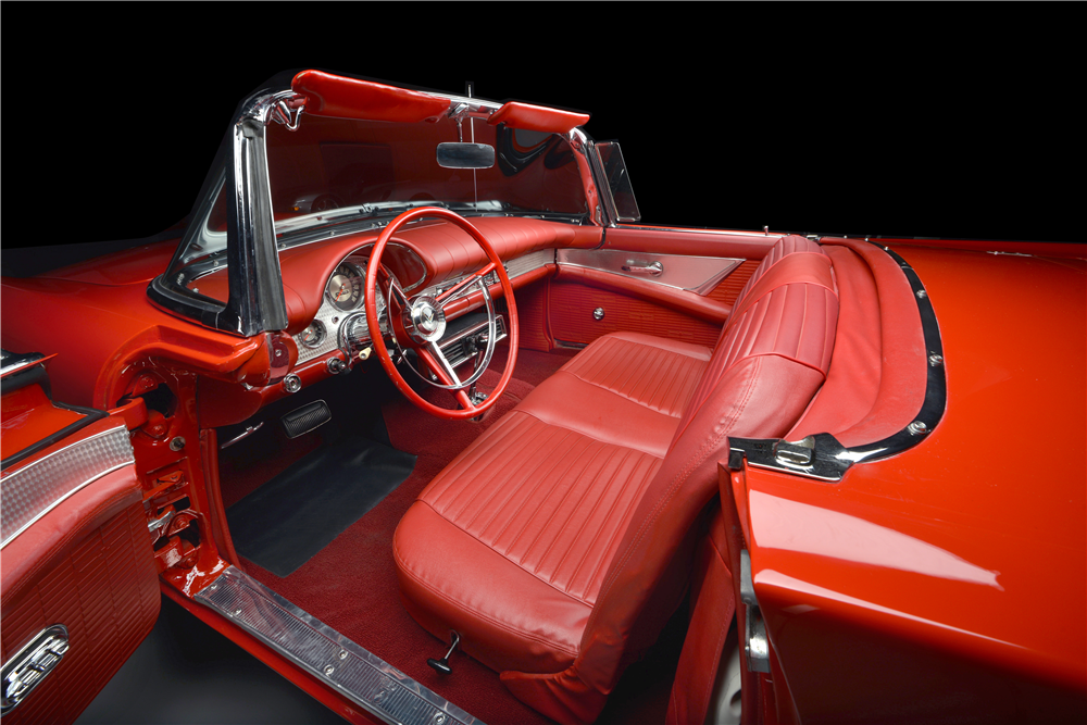 1957 FORD THUNDERBIRD E-SERIES CONVERTIBLE - Interior - 189493