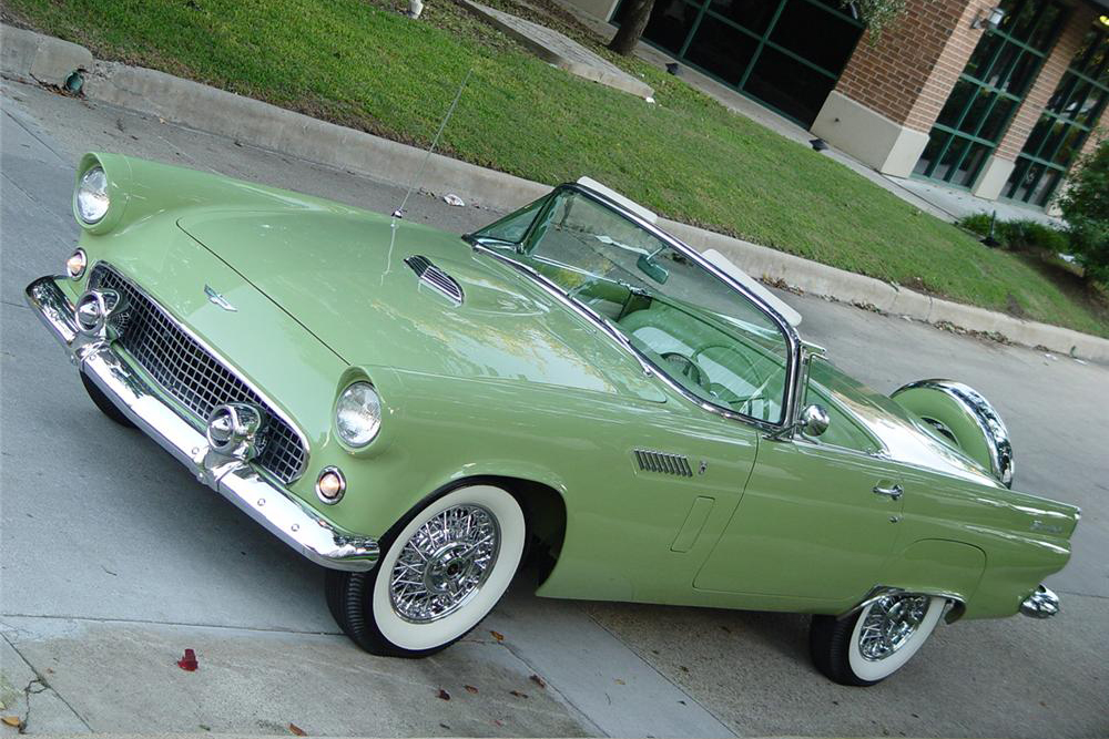 1956 FORD THUNDERBIRD CONVERTIBLE - Front 3/4 - 189494