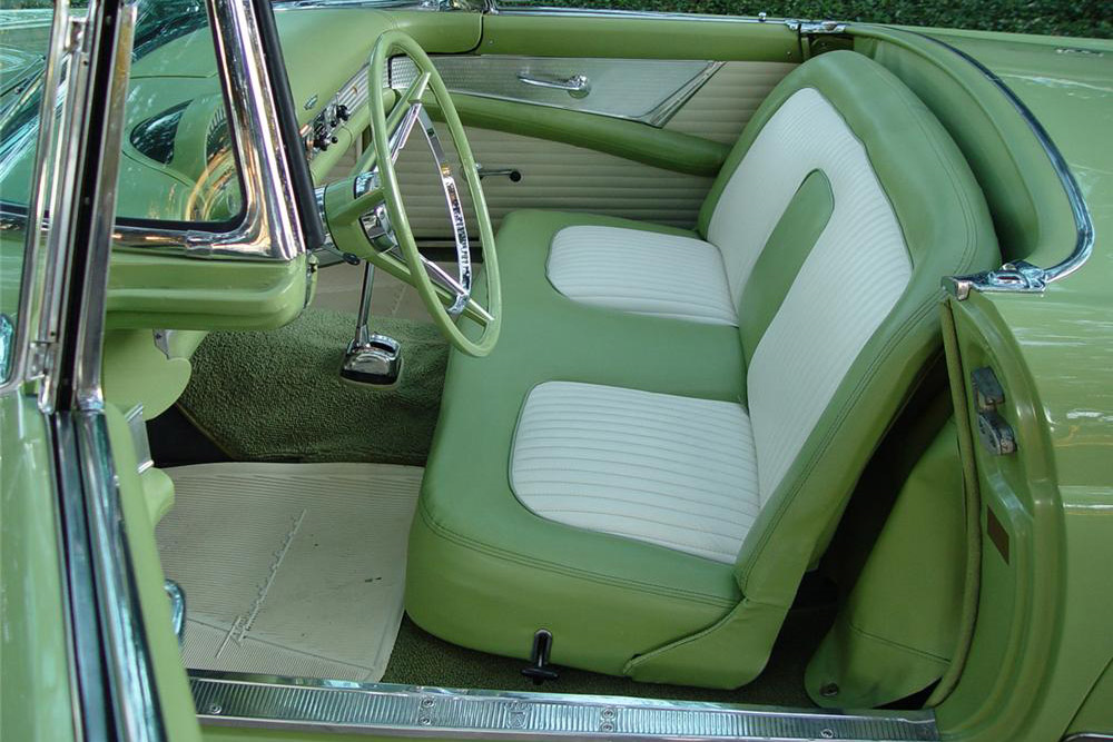 1956 FORD THUNDERBIRD CONVERTIBLE - Interior - 189494