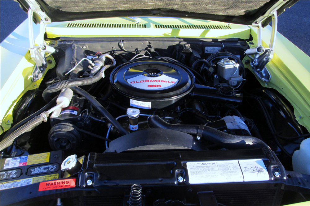 1973 OLDSMOBILE OMEGA HATCHBACK - Engine - 189499