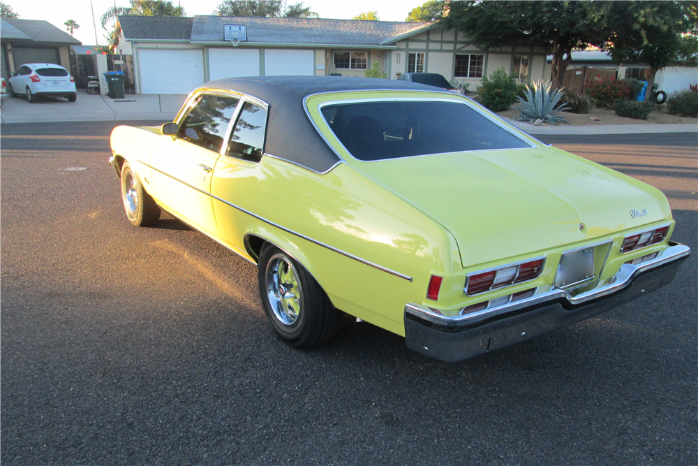 1973 OLDSMOBILE OMEGA HATCHBACK - Rear 3/4 - 189499