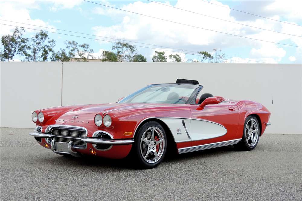 2000 CHEVROLET CORVETTE CUSTOM ROADSTER - Front 3/4 - 189515