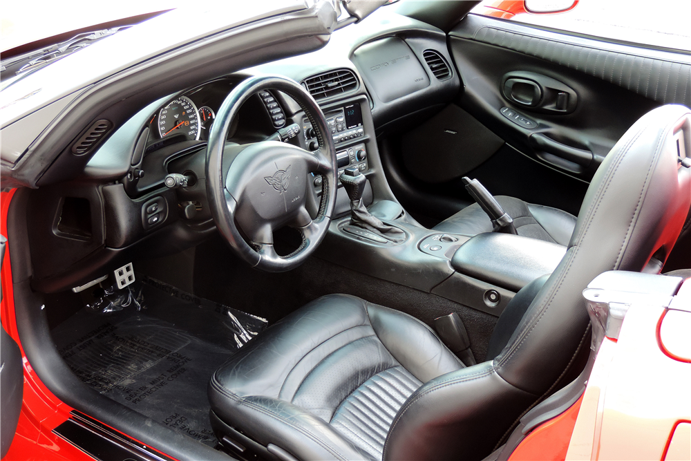 2000 CHEVROLET CORVETTE CUSTOM ROADSTER - Interior - 189515
