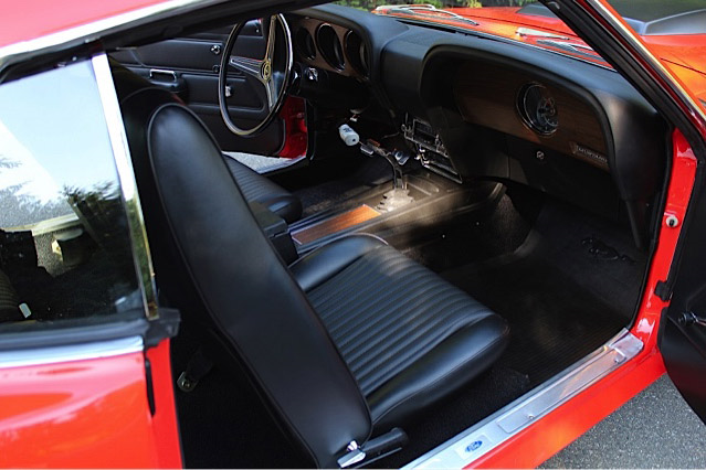 1970 FORD MUSTANG BOSS 429 FASTBACK - Interior - 189518