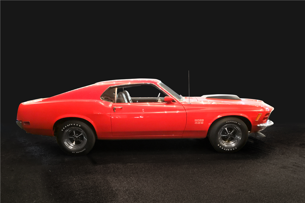 1970 FORD MUSTANG BOSS 429 FASTBACK - Side Profile - 189518