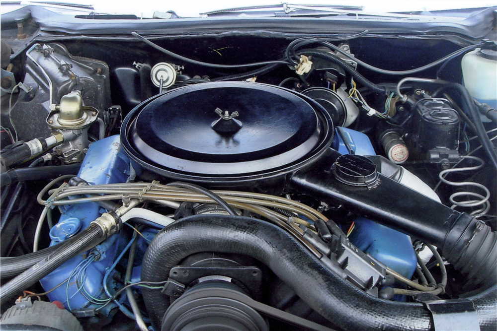 1976 CADILLAC ELDORADO CONVERTIBLE - Engine - 189529