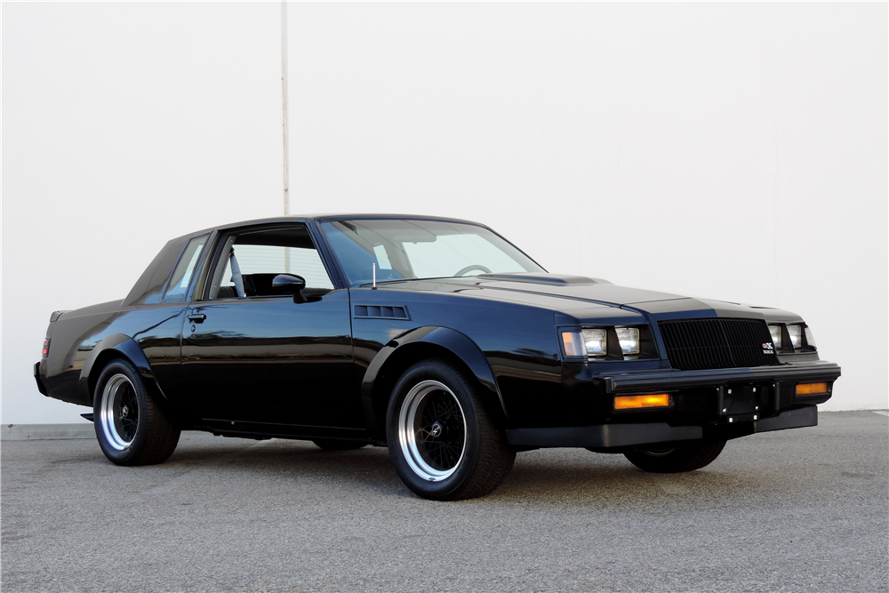 Grand National Car 2015 >> 1987 BUICK GRAND NATIONAL GNX - 189534