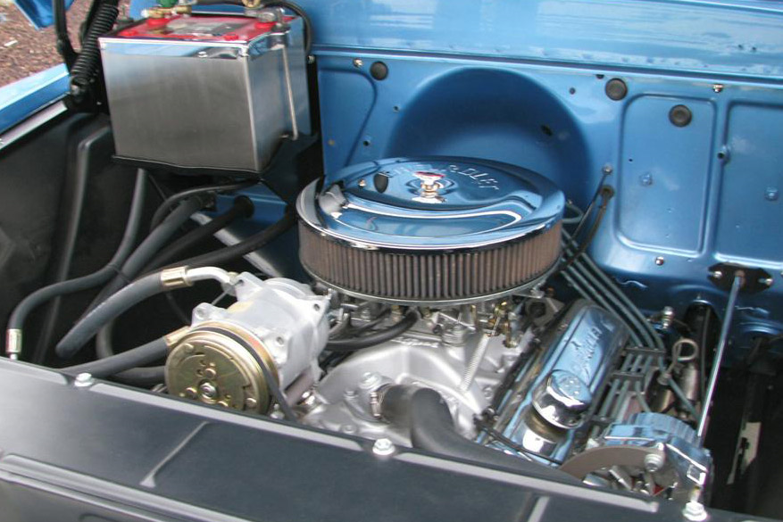 1957 CHEVROLET 3100 CUSTOM PICKUP - Engine - 189535