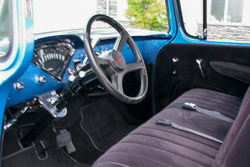 1957 CHEVROLET 3100 CUSTOM PICKUP - Interior - 189535