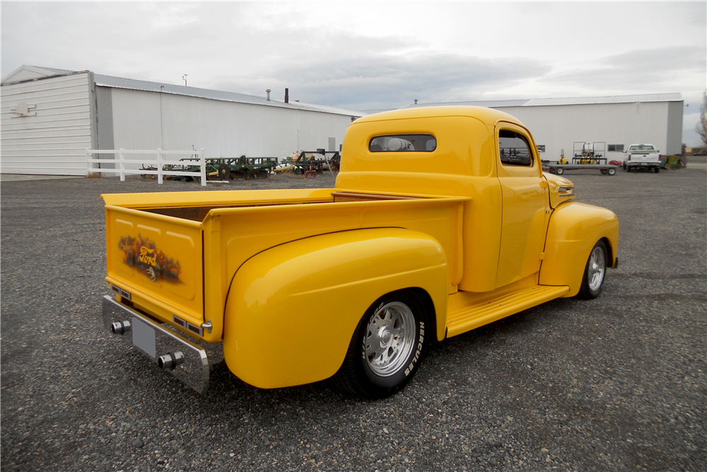 1950 FORD F-1 CUSTOM PICKUP - Rear 3/4 - 189540