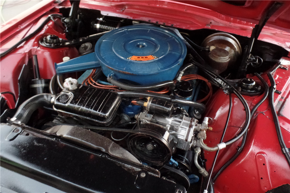 1966 FORD THUNDERBIRD LANDAU - Engine - 189549
