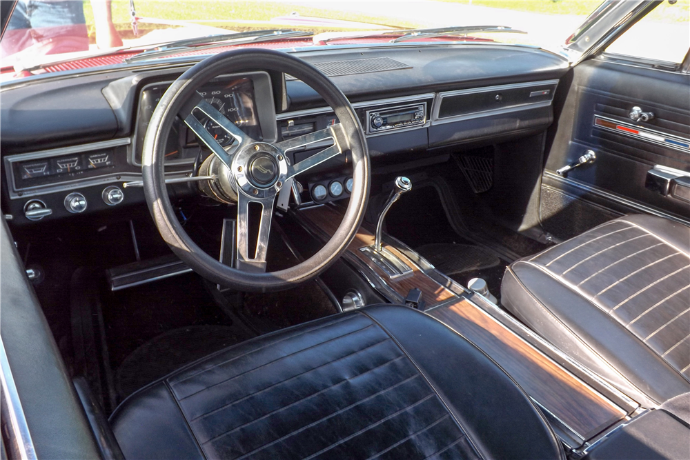 1966 PLYMOUTH SPORT FURY  - Interior - 189551