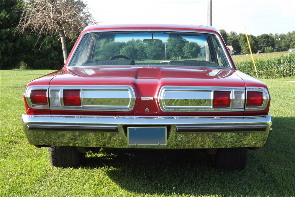 1966 PLYMOUTH SPORT FURY  - Rear 3/4 - 189551
