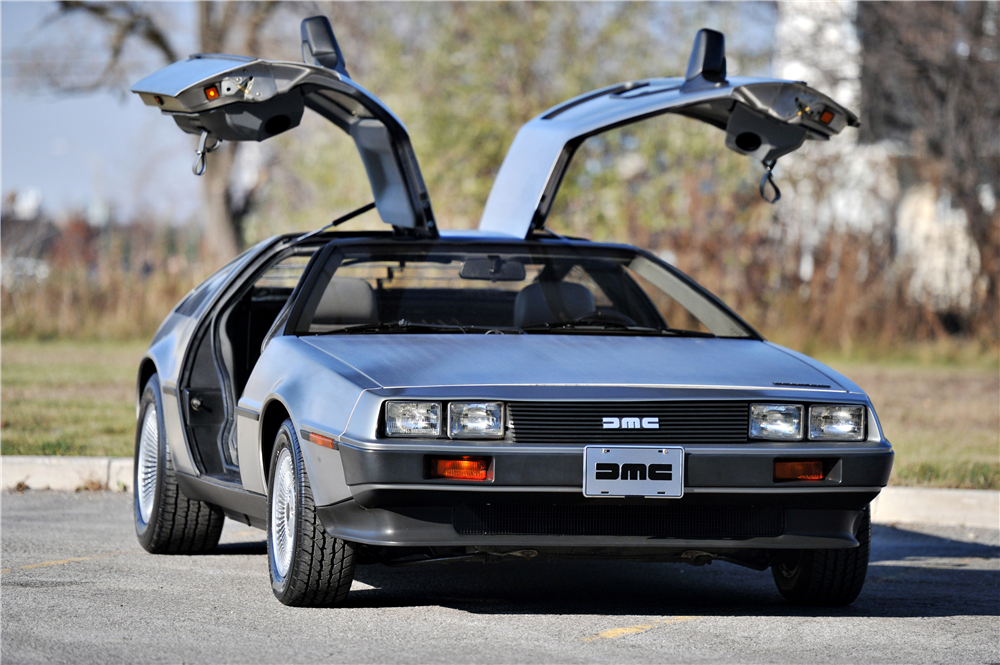 1981 DELOREAN DMC-12 GULLWING - Front 3/4 - 189557