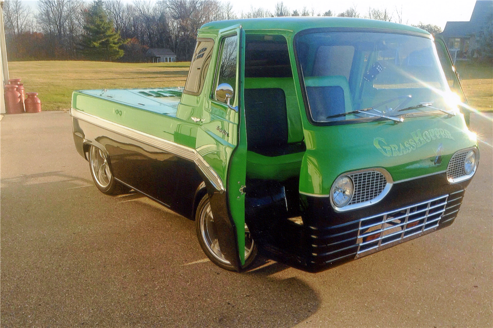 Thoughts At Large: CAR SPOTTER: 1964 Ford Econoline Pickup  Ford Econoline Pickup Trucks