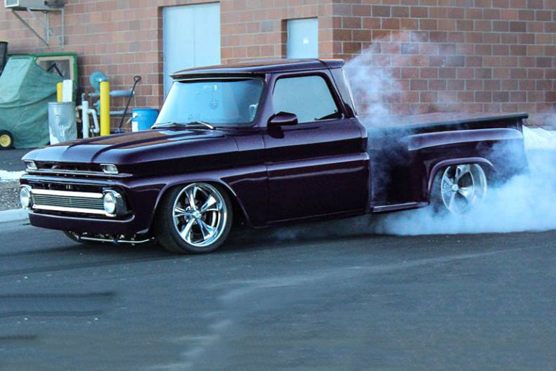 1964 CHEVROLET C-10 PICKUP - Side Profile - 189568