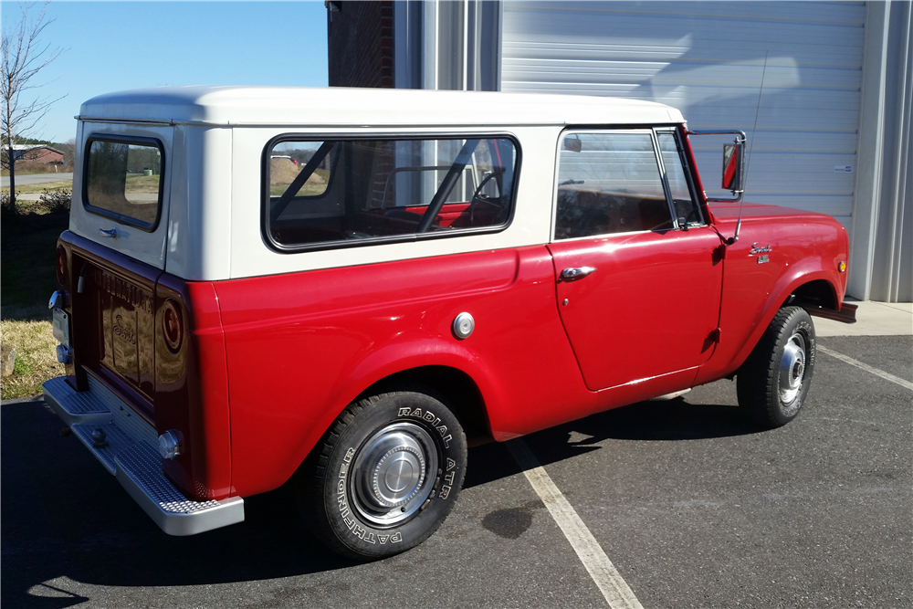 Car Auctions In Nc >> 1969 INTERNATIONAL HARVESTER SCOUT - 189572