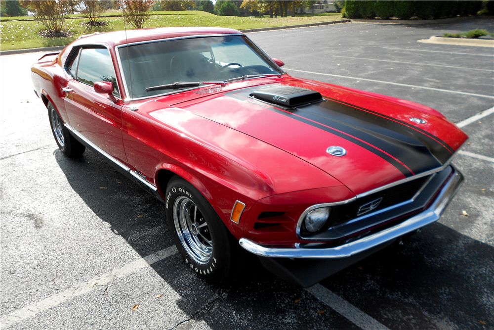 1970 FORD MUSTANG MACH 1 428 CJR FASTBACK - Front 3/4 - 189579